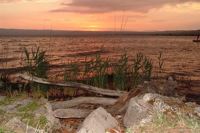 Lago di Bolsena tramonto