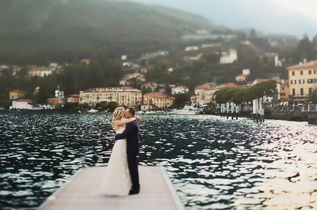 Dove celebrare un matrimonio sul lago in Italia