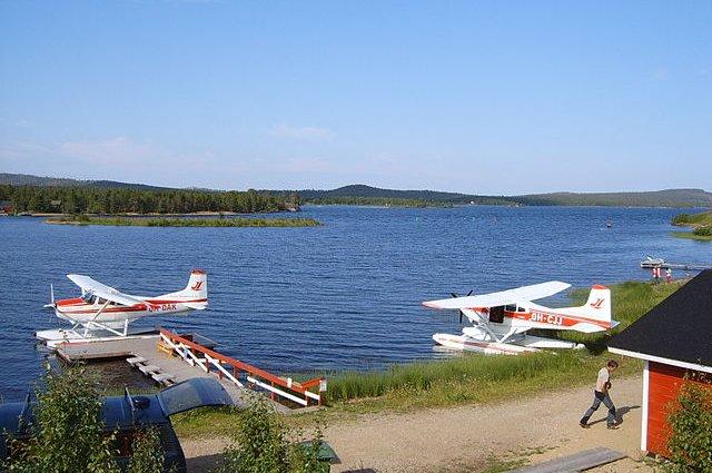 Inari, lago della Lapponia