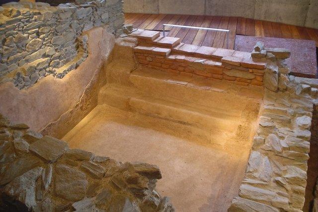 Il Balneo, la piscina pubblica degli antichi romani