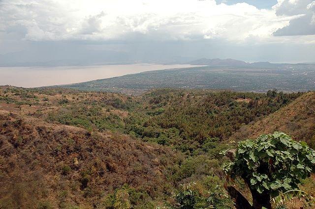 Lago Margherita in Abissinia